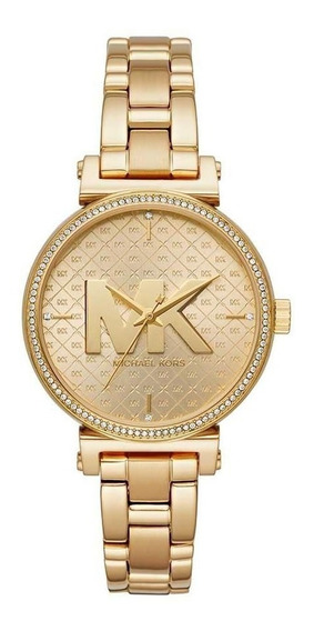 Relógio Michael Kors Mk4334/1di Dourado