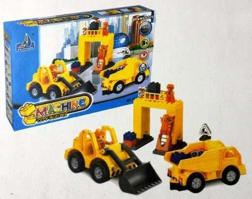 Juguete Armable Bloques De Construcion Para Niños 40 Piezas