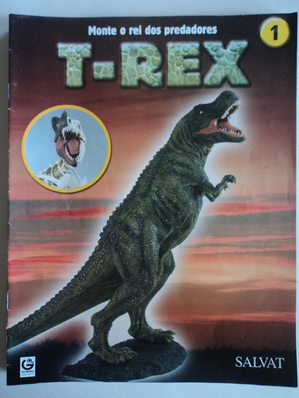 Revista:t-rex:salvat-lote Com 10:somente As Revistas:vol.1..