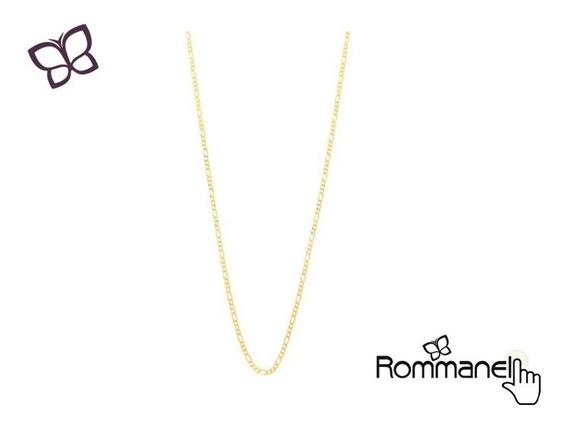 Cordão Masculino 60cm Folheado Ouro Rommanel 530109