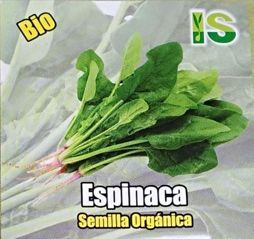 Semillas Organicas De Espinaca X1gramo