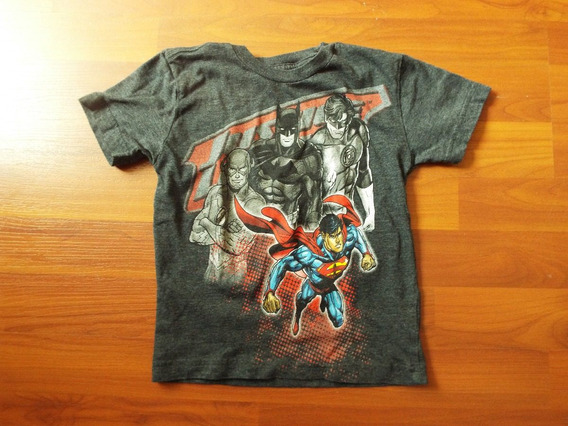 Playera 4 Años Justice League