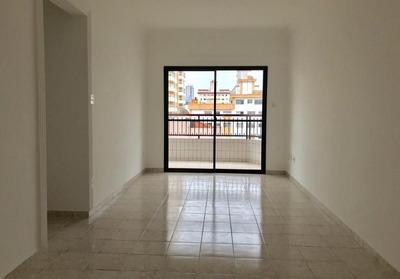 Apartamento De 3 Dormitórios Grande, Com Vista Mar No Canto Do Forte - Ap1957