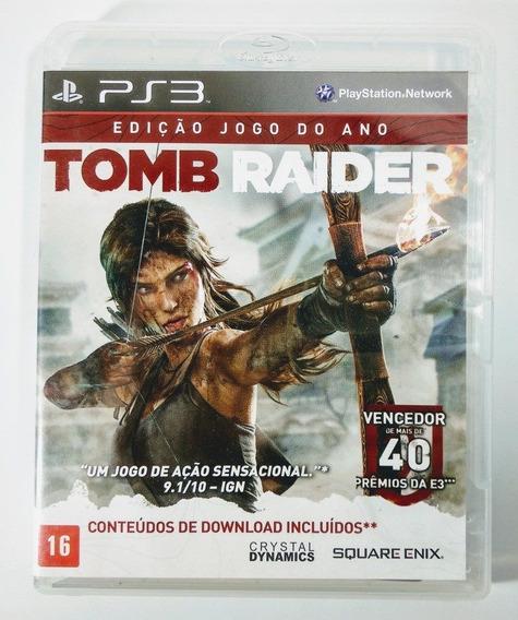 Tomb Raider Edição Jogo Do Ano - Ps3