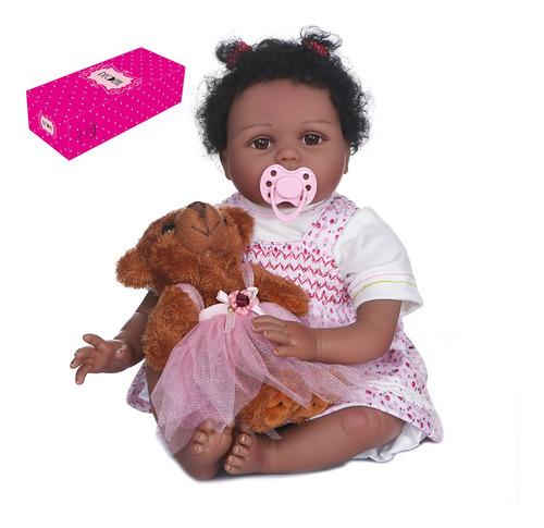 Imagen 1 de 7 de Decdeal Reborn - Muñeca Para Bebé (55cm, Tacto Suave)