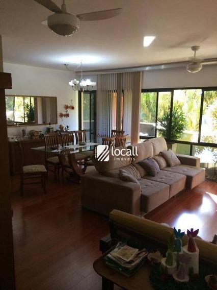 Apartamento Com 3 Dormitórios Para Alugar, 130 M² Por R$ 2.000,00/mês - Jardim Vivendas - São José Do Rio Preto/sp - Ap1972