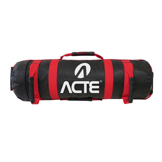 Bolsa Sand Bag 20 Kg Preta E Vermelha T207 Acte