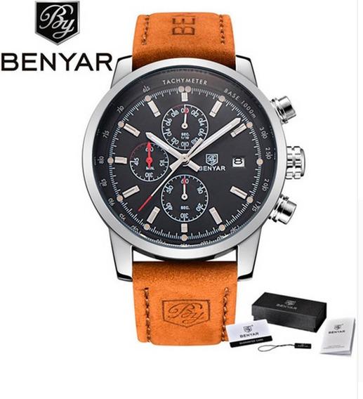 Relógio Masculino Benyar Original Pronta Entrega Modelo 5102