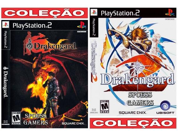 Drakengard Ps2 1 E 2 ( Rpg ) Coleção (2 Dvds) Patch