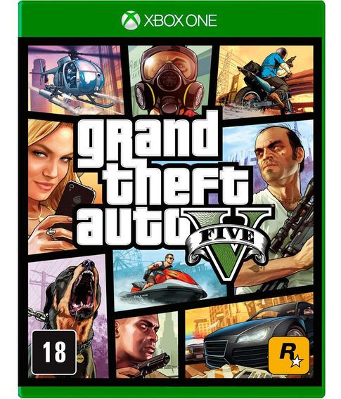 Gta V Xbox One Midia Digital + 1 Jogo Grátis