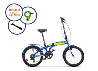 Bicicleta Plegable Topmega Folding R20 Shimano Liviana Nueva