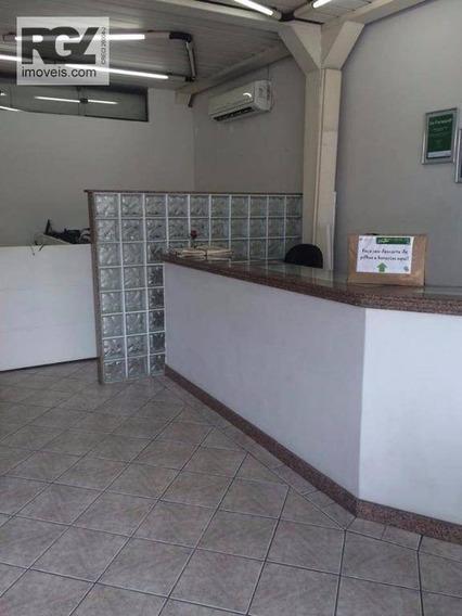 Loja Comercial Para Venda E Locação, Vila Nova, Santos. - Lo0036