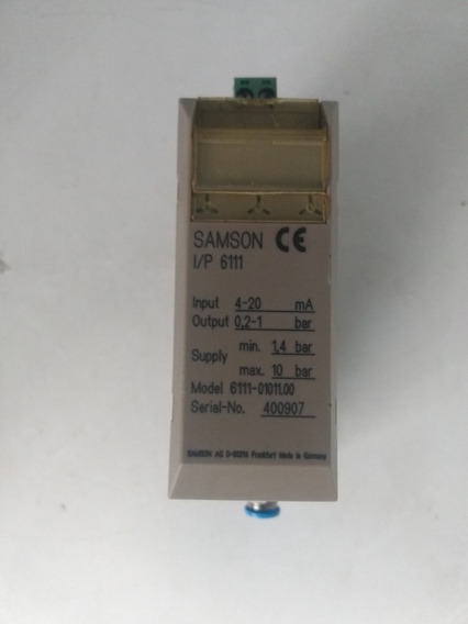 Samson I/p 6111-01011.00