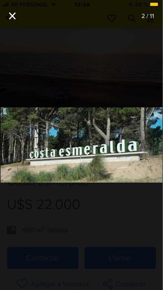 Lote Costa Esmeralda Senderos 3 Lote 446 Permuto Financio