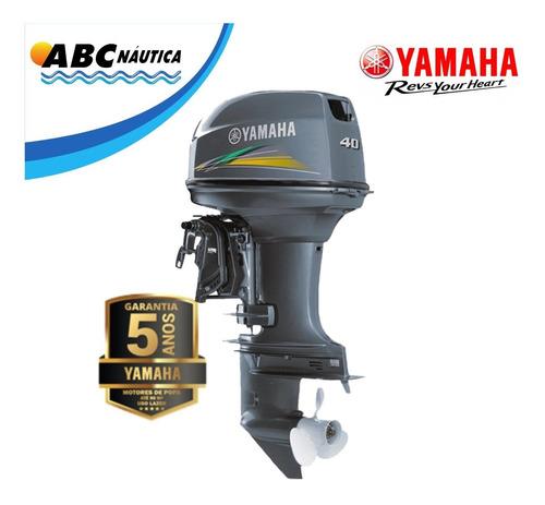 Motor De Popa Yamaha 40hp 2t  Comando