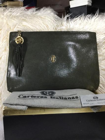 Sobre Bandolera Cuero 100% Carteras Italianas Vintage