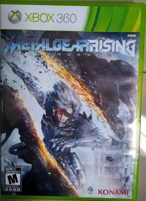 Metal Gear Rising Xbox 360/retrocompativel Xbox One.