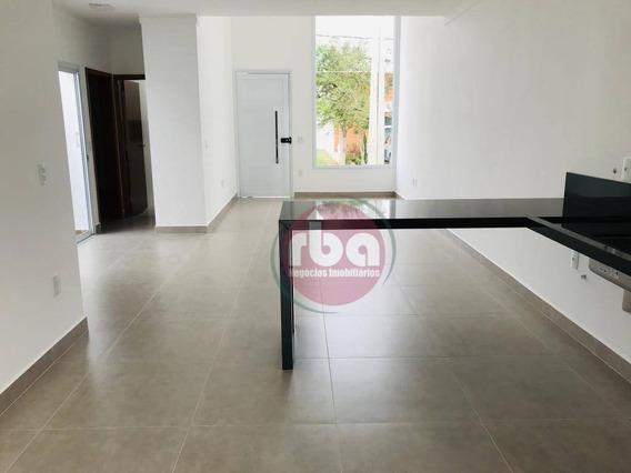 Casa Com 3 Dormitórios À Venda, 96 M² Por R$ 385.000 - Condomínio Terras De São Francisco - Sorocaba/sp - Ca1736