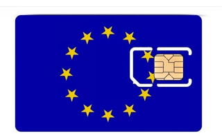 Chip Internacional Simcard Europa - Franquia 10gb - 30 Dias