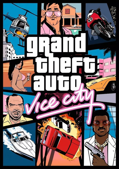 Grand Theft Auto (gta) Vice City Pt Br - Pc - Digital
