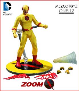 Zoom / Reverse Flash: Mezco One:12. Dc Comics. 2017.