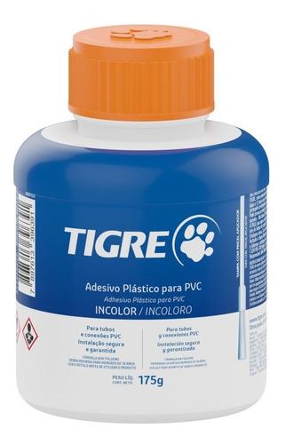 Adhesivo Pegamento Para Caños Pvc 175 Gramos Incoloro Tigre
