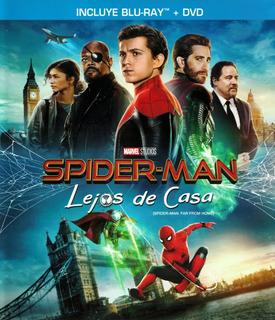 Película Bluray Spider-man: Lejos De Casa Bluray + Dvd