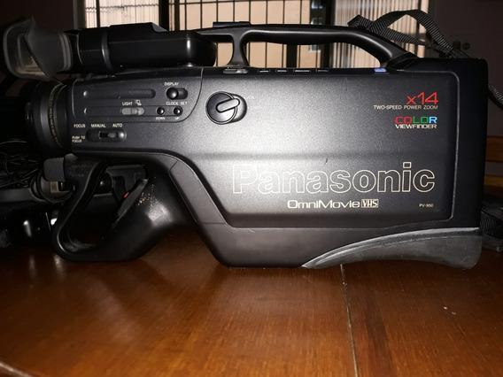 Filmadora Panasonic Omnimovie Vhs Pv-950