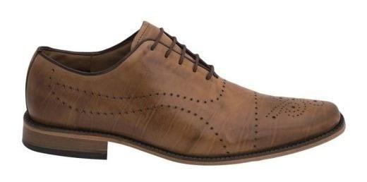 Zapato De Vestir Schatz 6112 Id 180955 Cafe Para Hombre