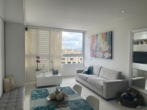 Imagen 1 de 13 de Apartamento En Venta Villa Santos 2 Cuartos 2 Baños