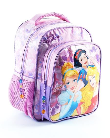 Mochila Espalda Jardin Disney Princesas Wabro - Mundo Manias