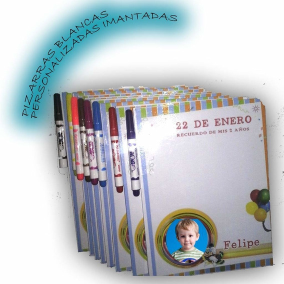 Pizarras De Madera Personalizadas Con Iman (15 Unidades)