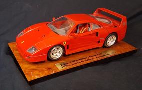 Carro Miniatura Vintage Raro Bburago Ferrari F40 1987