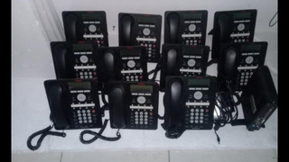 Lote De 10 Telefones Ip Avaya