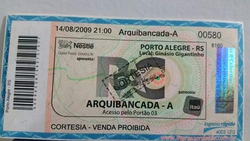 Antigo Ingresso Rei Roberto Carlos