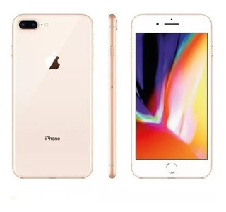 iPhone 8 Plus Dourado Tela 5,5 4g 64 Gb 12 Mp