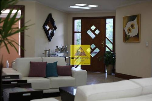Imagem 1 de 10 de Sobrado Com 5 Dormitórios À Venda, 550 M² Por R$ 2.980.000,00 - City América - São Paulo/sp - So0821