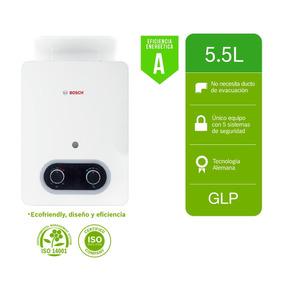 Terma A Gas Bosch Nueva Eco Premium 5.5 Litros Glp