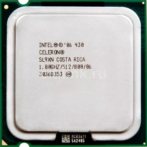 Processador Intel Celeron 430 1.8ghz Lga775 Testados 100%