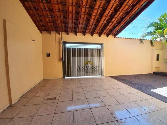 Casa Com 2 Dormitórios Para Alugar, 112 M² Por R$ 900/mês - Quintino Facci I - Ribeirão Preto/sp - Ca0310