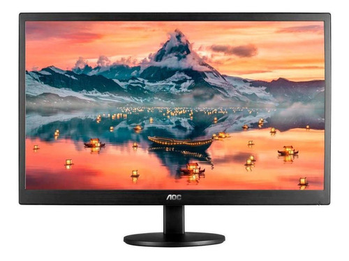 Monitor 18.5  Aoc Led E970swhnl Hd Hdmi Preto