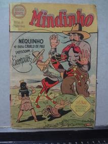 Hq Mindinho Nº 6 1949 Nequinho E Seu Cavalo De Pau
