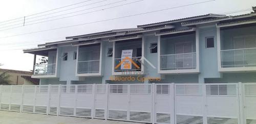 Casa Com 2 Dormitórios À Venda, 105 M² Por R$ 320.000,00 - Massaguaçu - Caraguatatuba/sp - Ca0426