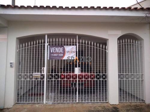 Imagem 1 de 15 de Linda Casa Com 2 Dormitórios À Venda, 100 M² Por R$ 270.000 - Parque Mãe Preta - Rio Claro/sp - Ca0475
