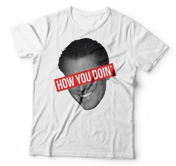 Camisa Camiseta Estampa Friends Joey How You Doin Seriado