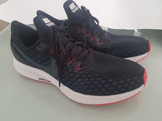 Tênis Nike Air Zoom Pegasus 35 Tam. 41 9,5us Preto Azul Escu