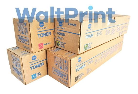 Kit Toner Tn615 Konica Minolta C8000 - Original