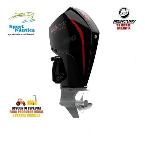 Motor De Popa Mercury 300 Hp Pro Xs Dts Racing Novo!