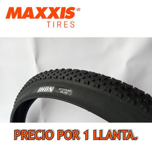 Imagen 1 de 8 de Llanta Maxxis Ikon 27.5*2.20.  Mtb / Talón Convencional.