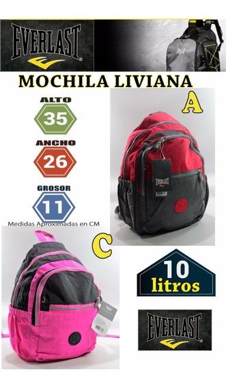 Mochila Everlast 17865 Color No Cartera Combinada Deportiva